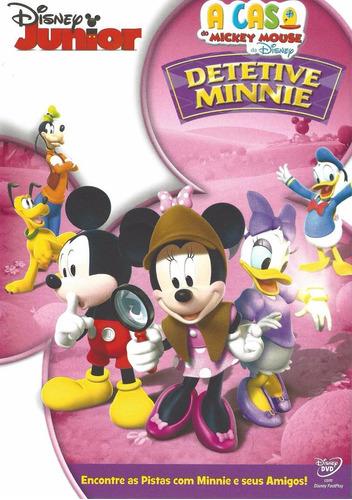 dvd detetive minnie a casa do mickey mouse da disney