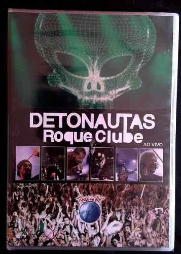 dvd detonautas - roque clube rock in rio (lacrado)