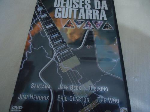 dvd - deuses da guitarra