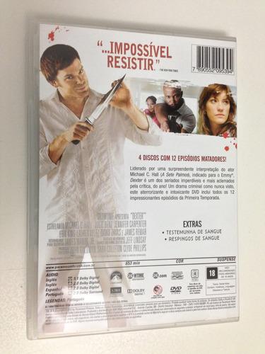 dvd dexter temporada 1