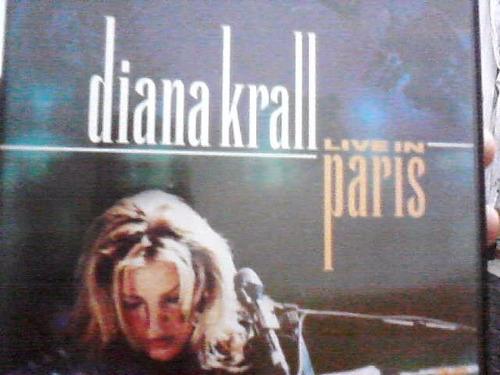 dvd - diana krall ( ao vivo em paris ) )