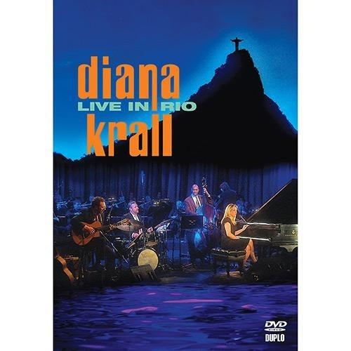 dvd - diana krall - live in rio - lacrado