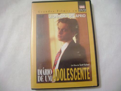 dvd diario de um adolescente  leonardo dicaprio