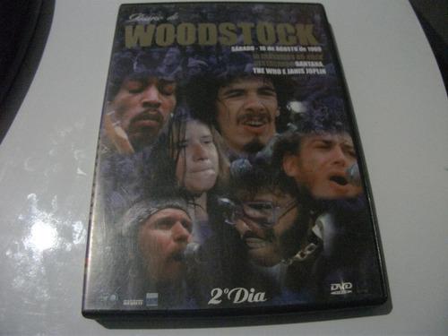dvd diario de woodstock sabado 16 de agosto de 1969 2°dia