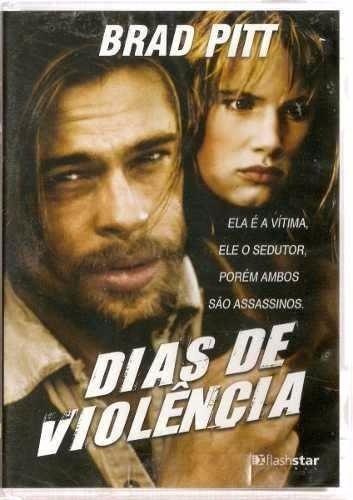 dvd dias de violência - brad pitt juliette lewis ( lacrado)