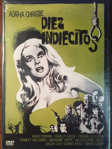 dvd diez indiecitos / 10 little indians / de agatha christie