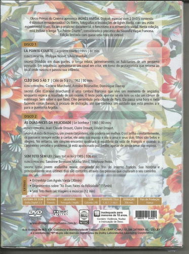 dvd digipak agnes varda - opc - bonellihq l19