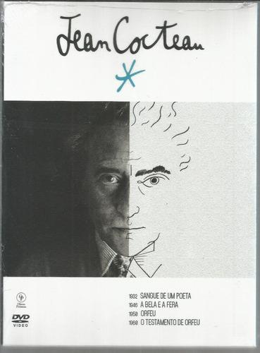 dvd digipak jean cocteau 2 dvds - opc - bonellihq m20