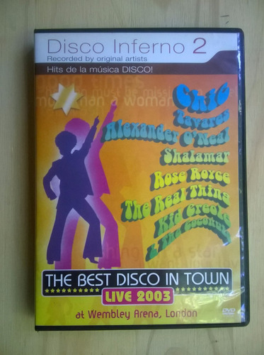 dvd disco inferno 2  -live 2003 at wembley -$ 60- orig.