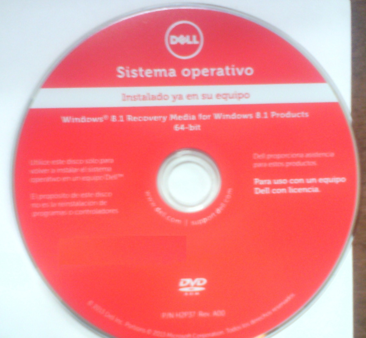 Dell Recovery Dvd