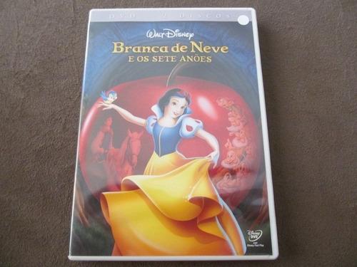 dvd disney branca de neve e os sete anões 2 discos arte som