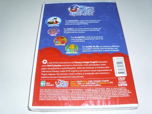 dvd disney magic english com atividades interativas vol 24