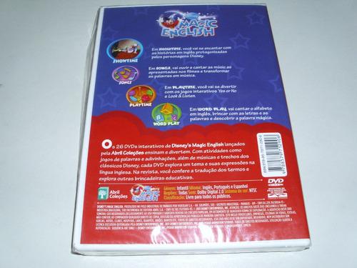 dvd disney magic english com atividades interativas vol 26