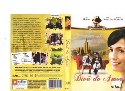 dvd divã do amor, ian holm - romance - original