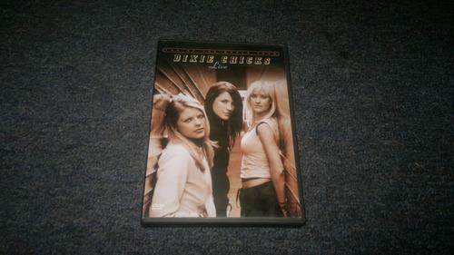 dvd dixie chicks live en formato dvd,excelente titulo