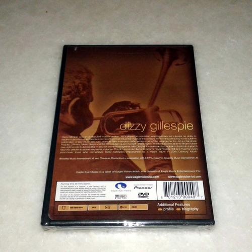 dvd dizzy gillespie live - novo lacrado original usa