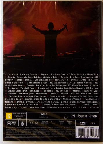 dvd dj dennis baile do dennis novo lacrado