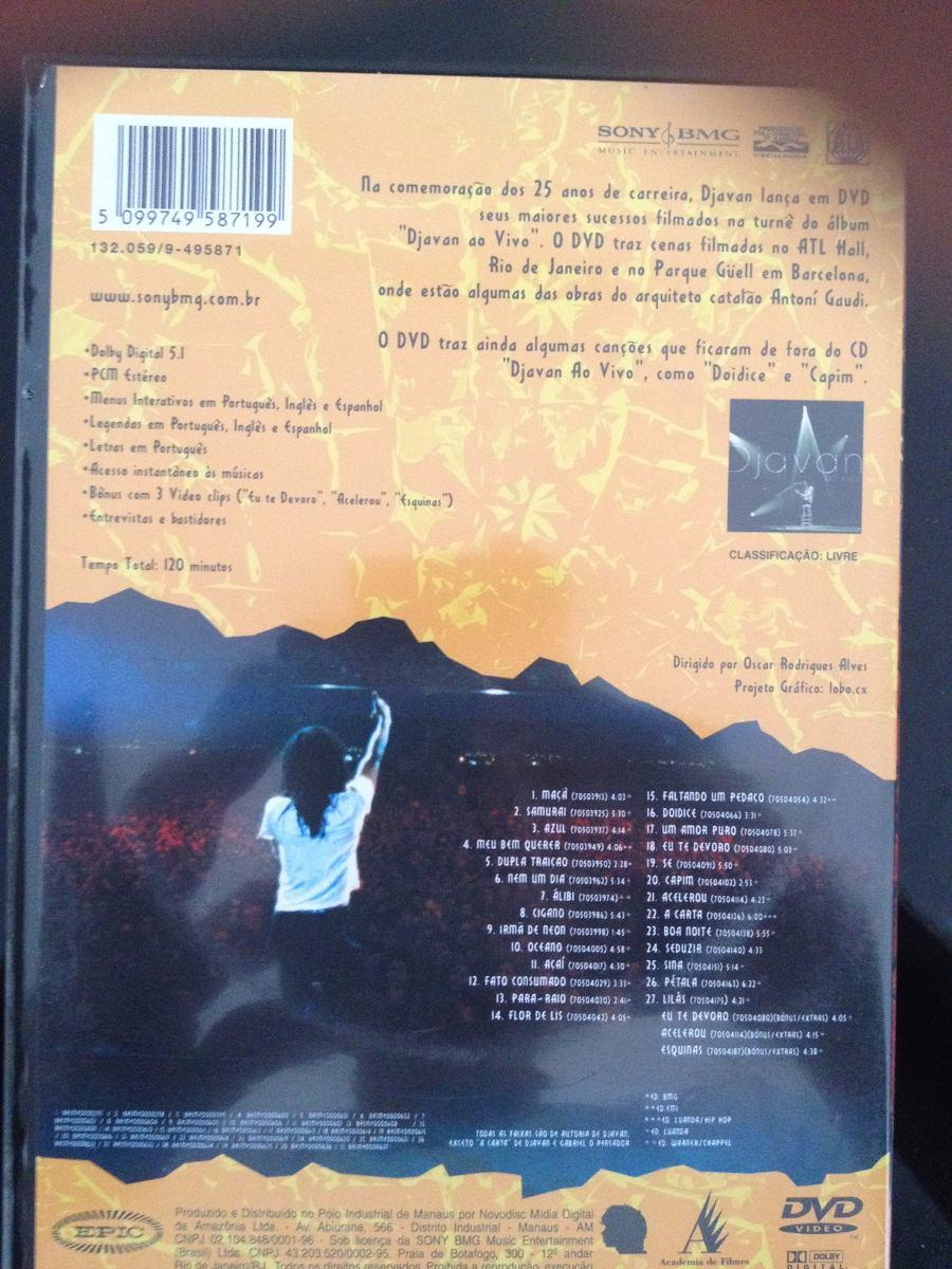 dvd djavan ao vivo gratis