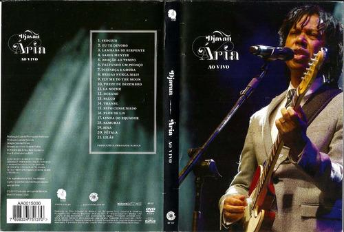 dvd djavan ária ao vivo