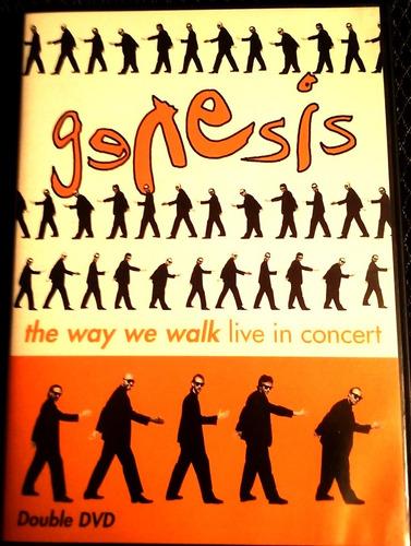 dvd doble de genesis en vivo the way we walk live in concert