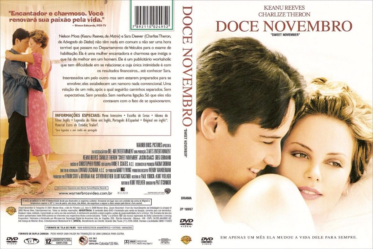 o filme doce novembro dublado gratis
