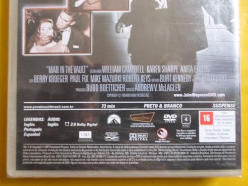 dvd domínio dos homens sem lei / novo / legendado