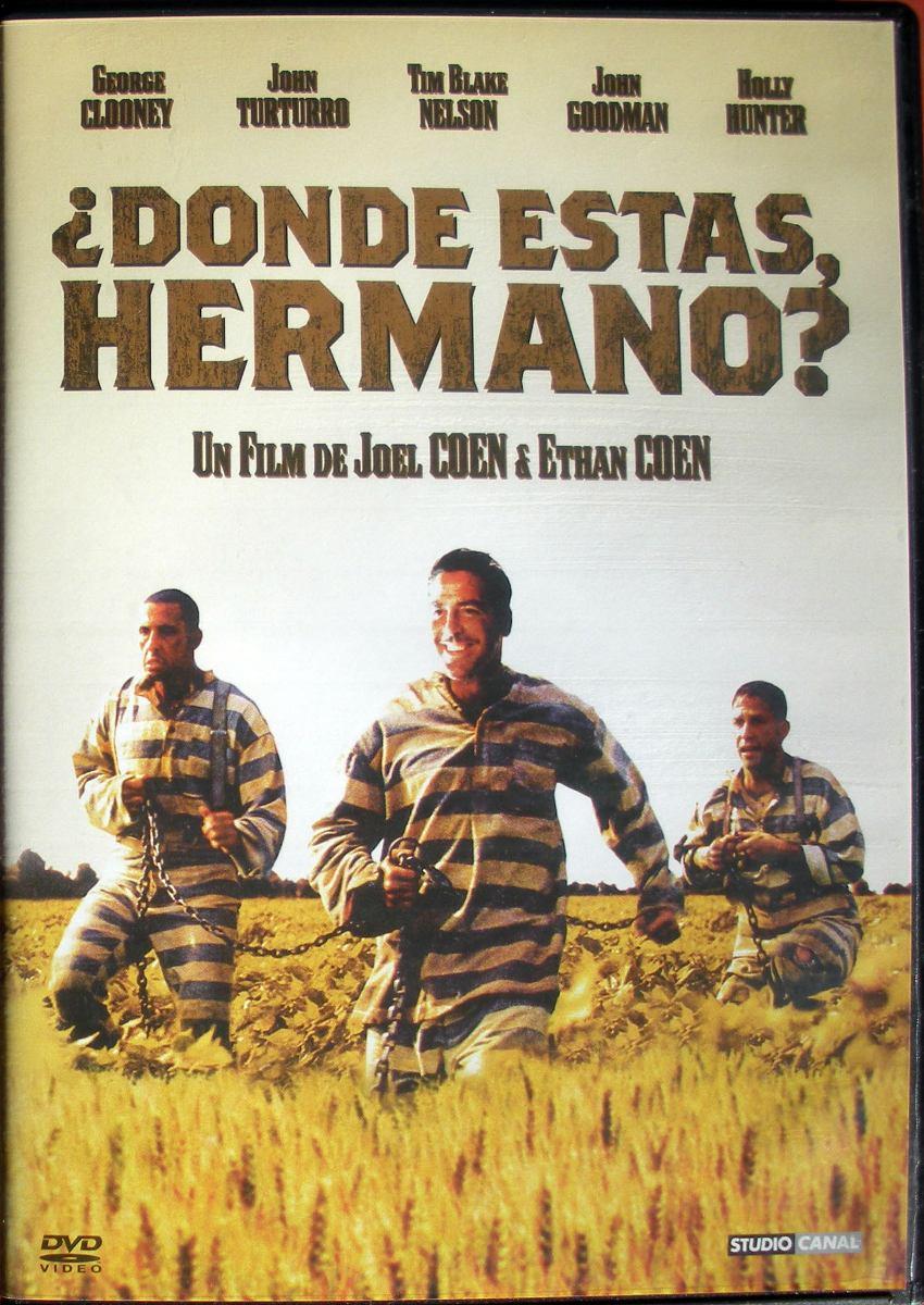 Dvd Dónde Estás Hermano Hermanos Coen George Clooney 300
