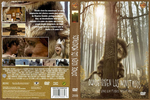 dvd donde viven los monstruos where the wild things tampico