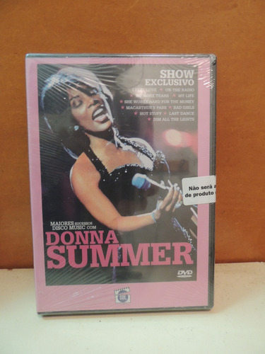 dvd donna summer show exclusivo i feel love