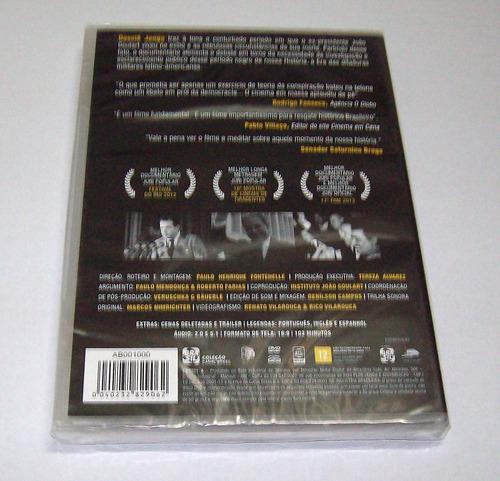 dvd dossiê jango - ex-presidente joão goulart - lacrado.