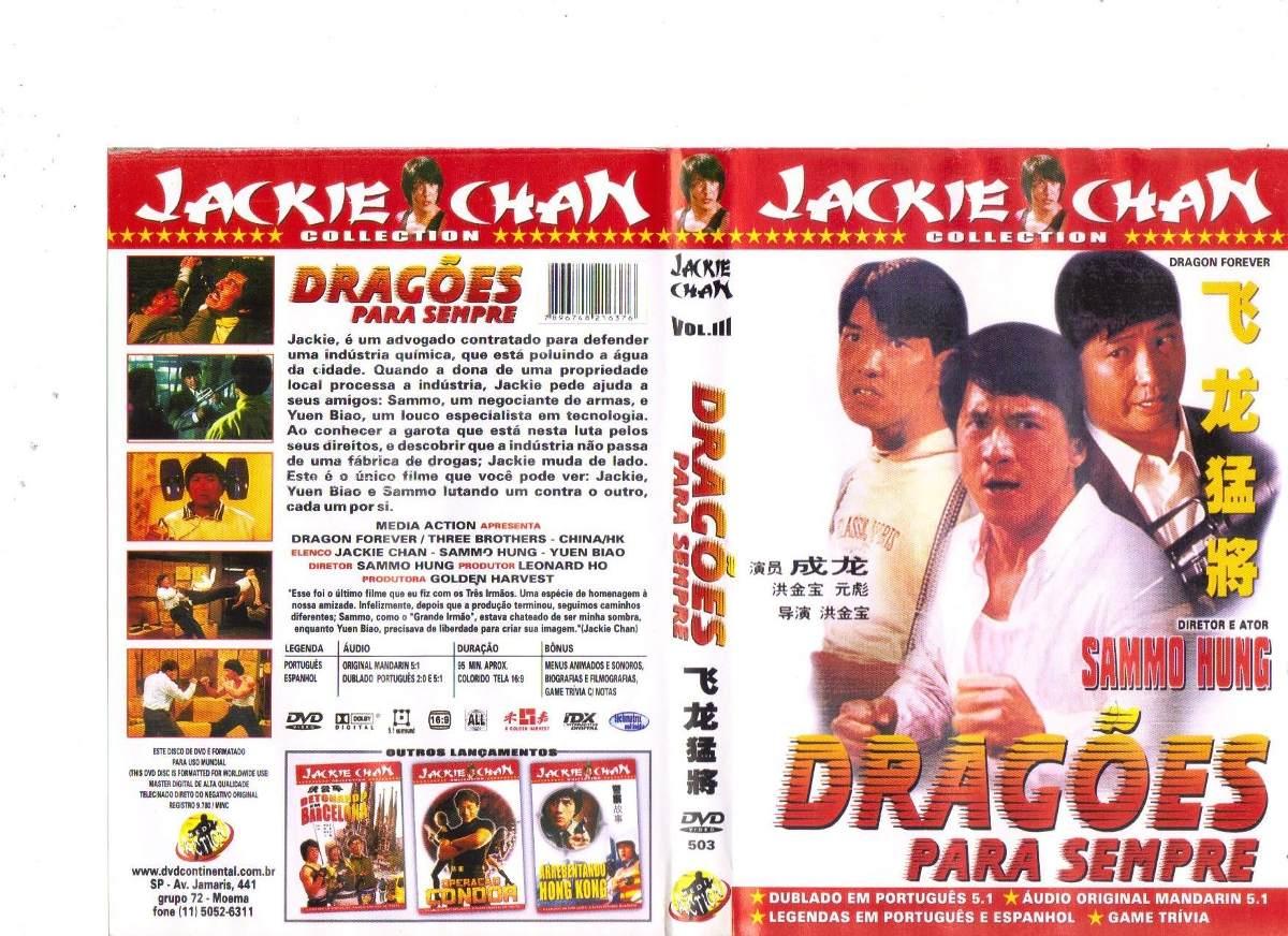 Dragões Para Sempre Classy dvd dragões para sempre - jackie chan - original - r$ 9,35 em