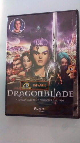 dvd dragon blade  - usado