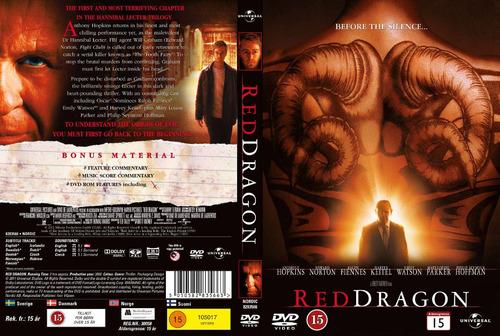 dvd dragon rojo red dragon hopkins norton edi 2 disc tampico