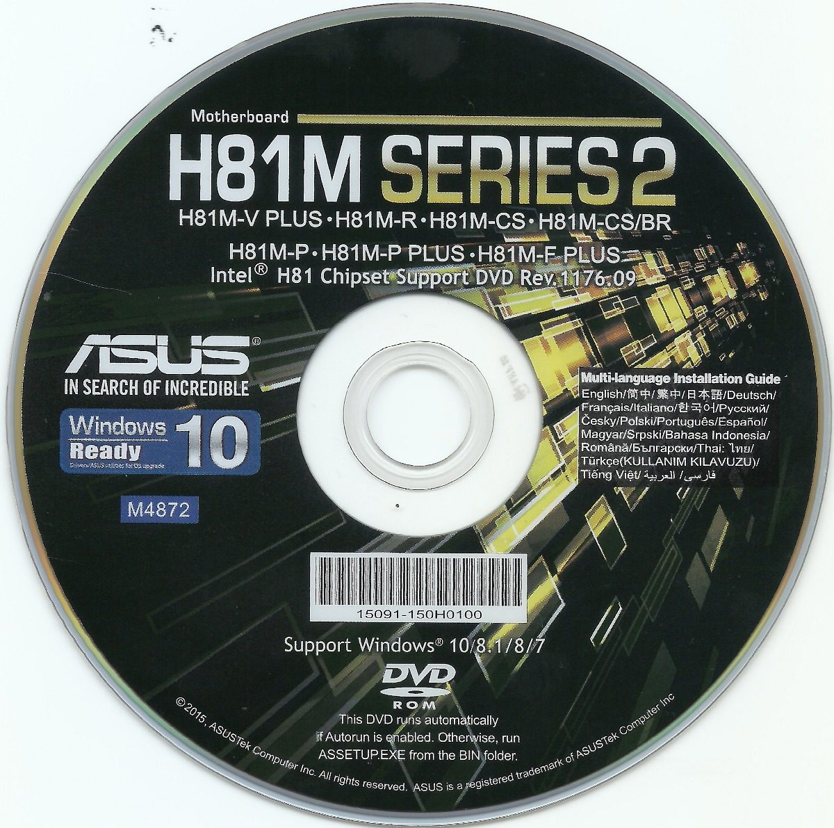 Asus H81M-P Windows 8