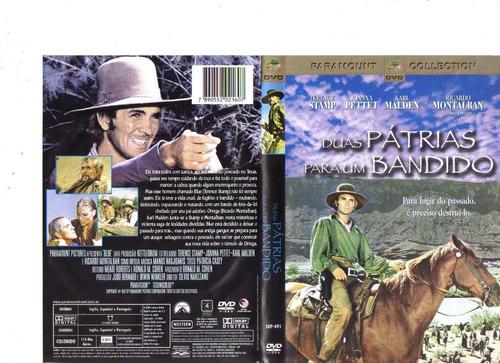 dvd duas pátrias para um bandido - western - original