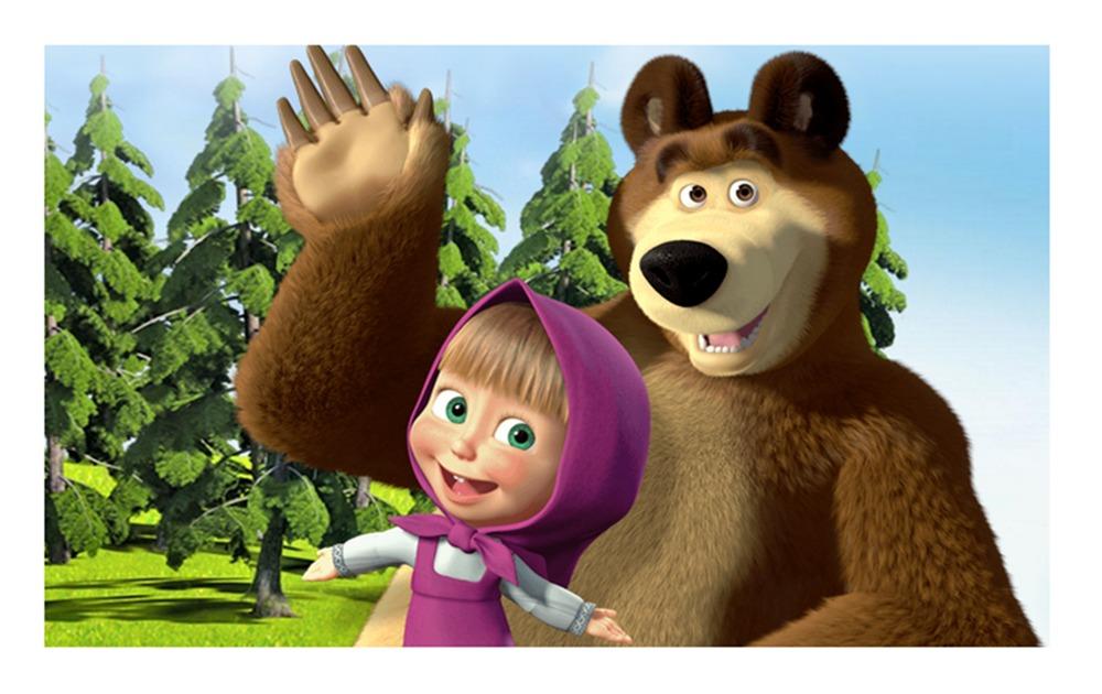 Resultado de imagem para masha e o urso