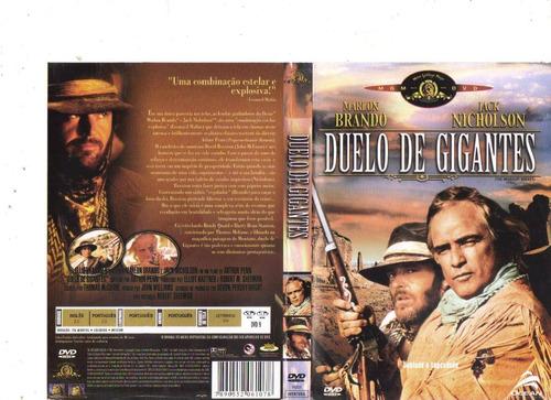 dvd duelo de gigantes, marlon brando, western, original