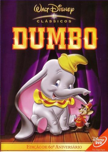 dvd dumbo - clássicos disney