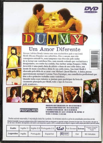 dvd dummy um amor diferente - novo***