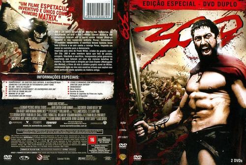 dvd duplo 300 ediçao especial
