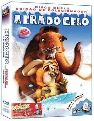 dvd duplo a era do gelo - edição de colecionador