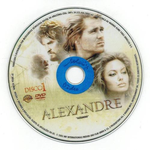 dvd duplo - alexandre, de oliver stone (platoon)