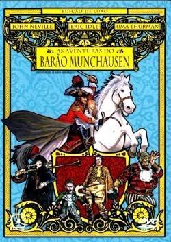 dvd duplo aventuras do barão de munchausen uma thurman 1989+