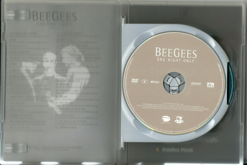 dvd duplo bee gees- one night only + this is where i came in