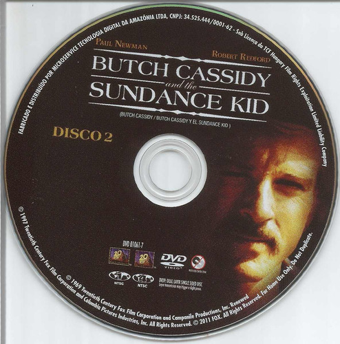 dvd duplo butch cassidy - paul newman - robert redford