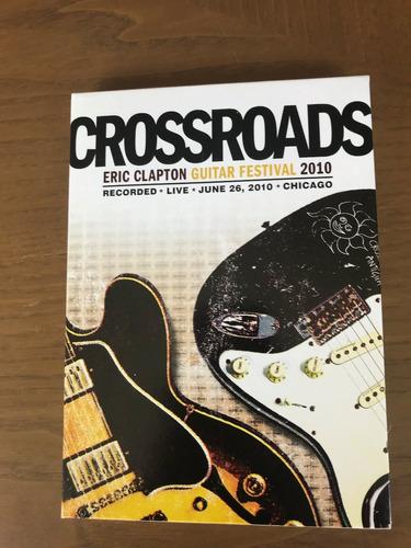 dvd  duplo eric clapton - crossroads