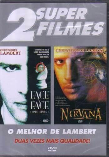 dvd duplo face a face com o inimigo & nirvana