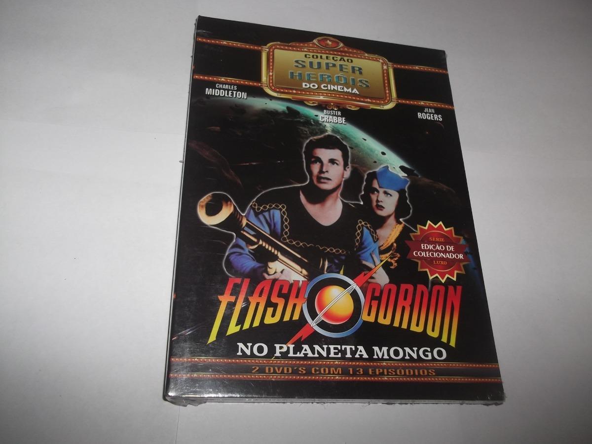 Dvd Duplo Flash Gordon No Planeta Mongo 1936 Lacrado R 40 00 Em Mercado Livre