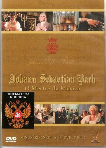 dvd duplo  johann sebastian bach o mestre da música  1985 +