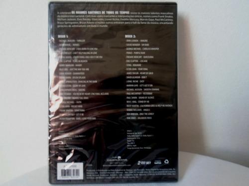 dvd duplo, maiores cantores de todos os tempos 40 hits orig.
